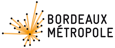 Logo Bordeaux Métropole variante orange