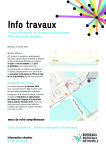 Lettre d'information n°1 - Tunnel Brazza